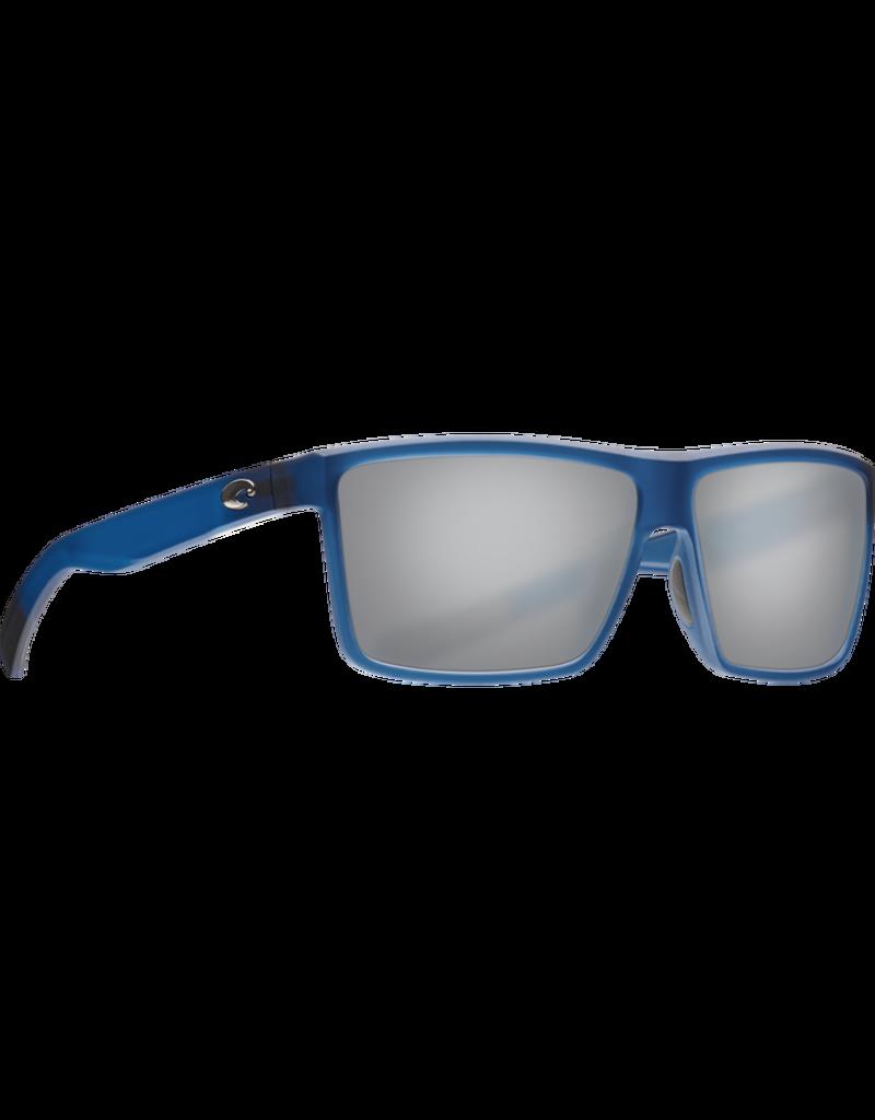 Costa Del Mar Rinconcito Matte Atlantic Blue  Gray Silver Mirror 580G