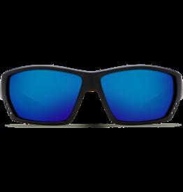 Costa Del Mar Tuna Alley Matte Black  Blue Mirror 580P C-Mate 1.50