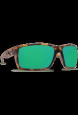 Costa Del Mar Reefton Retro Tortoise  Green Mirror 580G