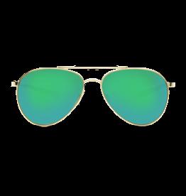 Costa Del Mar Piper Shiny Gold  Green Mirror 580P