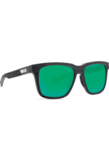 Costa Del Mar Pescador Net Gray w/Black Rubber Green Mirror 580G