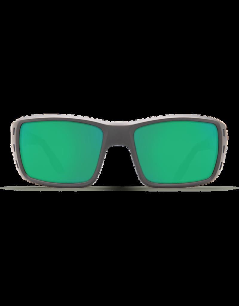 Costa Del Mar Permit  Matte Gray  Green Mirror 580P