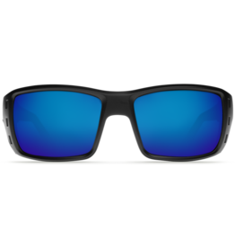 Costa Del Mar Permit  Matte Black  Blue Mirror 580P