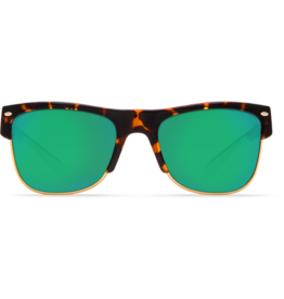 Costa Del Mar Pawley's Shiny Retro Tortoise  Green Mirror 580G