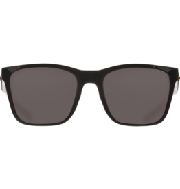 Costa Del Mar Panga Shiny Black/Crystal/Fuchsia  Gray 580G