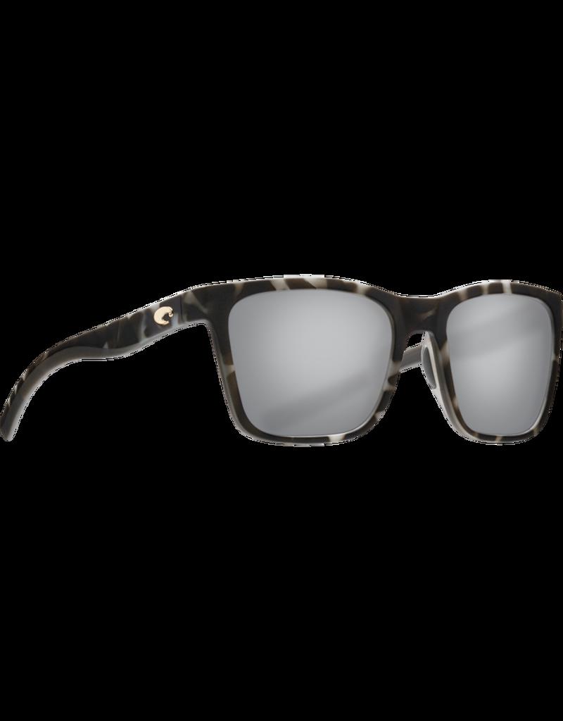 Costa Del Mar Panga Matte Gray Tortoise  Gray Silver Mirror 580P