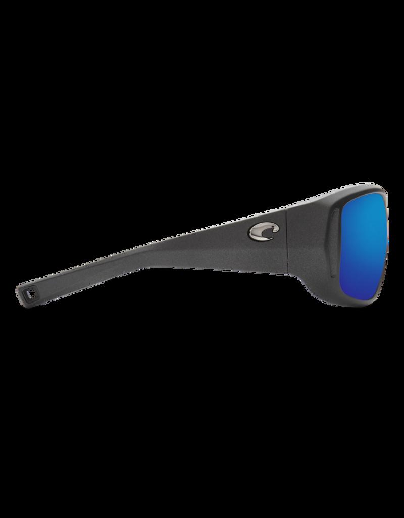 Costa Del Mar Montauk Steel Gray Metallic  Blue Mirror 580P