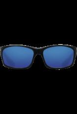 Costa Del Mar Jose Shiny Black  Blue Mirror 580P