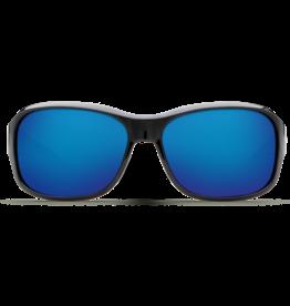 Costa Del Mar Inlet Shiny Black  Blue Mirror 580P