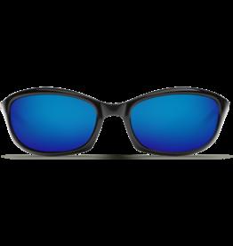 Costa Del Mar Harpoon Shiny Black  Blue Mirror 580G