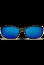 Costa Del Mar Hammerhead Shiny Black  Blue Mirror 580P