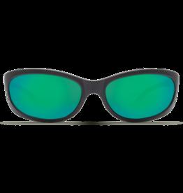 Costa Del Mar Fathom  Matte Black  Green Mirror 580G