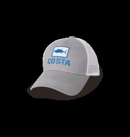 Costa Del Mar Costa Tuna Trucker Gray Hat