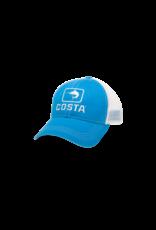 Costa Del Mar Marlin Trucker XL Hat Costa Blue/White