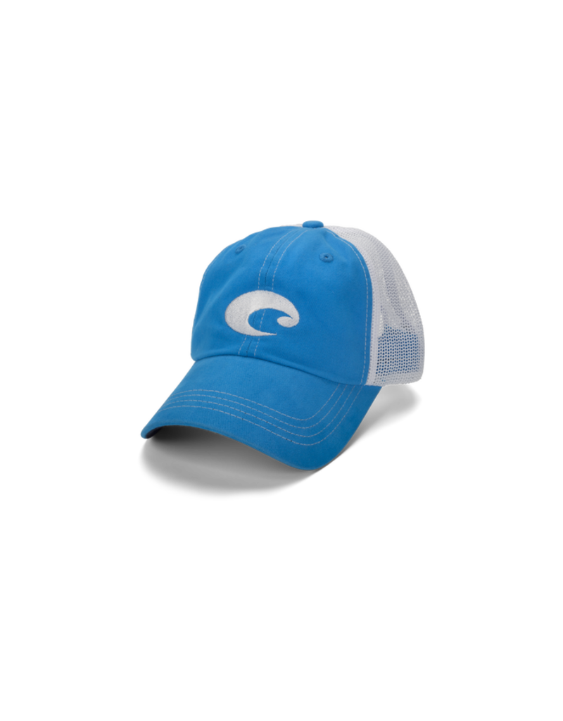 Costa Mesh Hat (Blue) One Size