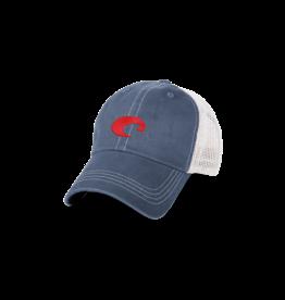 Costa Mesh Hat (SLATE BLUE/WHITE)  One Size
