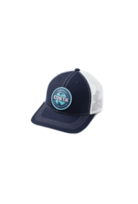 Costa Del Mar Ocearch Stoneham Hat Navy/White