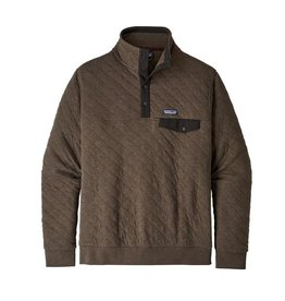Patagonia Mens Organic Cotton Quilt Snap-T P/O Logwood Brown