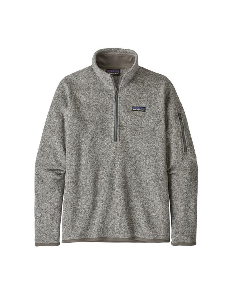 Patagonia Womens Better Sweater 1/4 Zip Oyster White