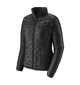 Patagonia Womens Micro Puff Jacket Black