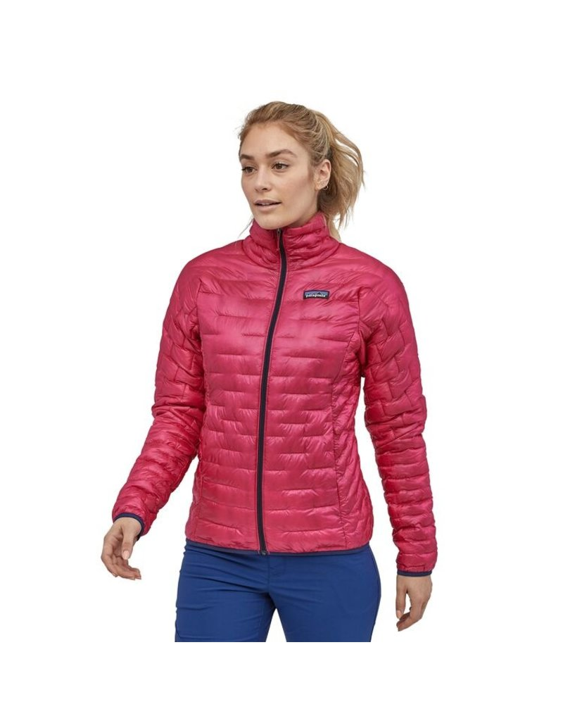 Patagonia Womens Micro Puff Jacket Craft Pink