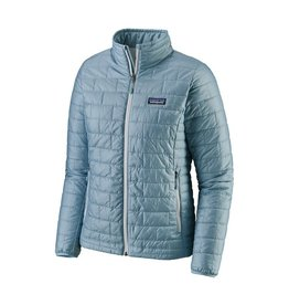 Patagonia Womens Nano Puff Jacket Big Sky Blue