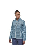 Patagonia Womens Nano Puff Jacket Big Sky Blue