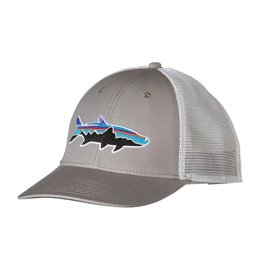 Patagonia Fitz Roy Tarpon LoPro Trucker Hat Drifter Grey ALL