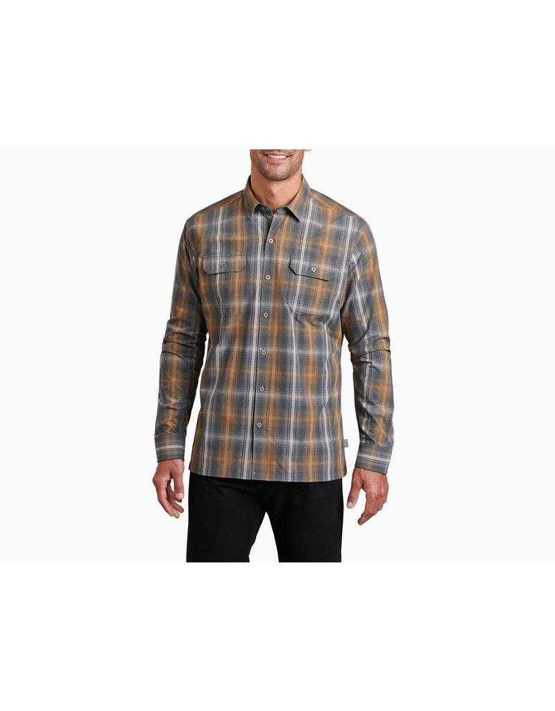 Kuhl Mens Response Long-Sleeve Shirt Golden Dusk
