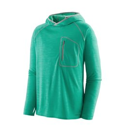 Patagonia Mens Sunshade Technical Hoody Plains Green