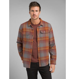 Prana Lybek Flannel Gravel Plaid