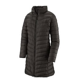 Patagonia Womens Silent Down Parka Black