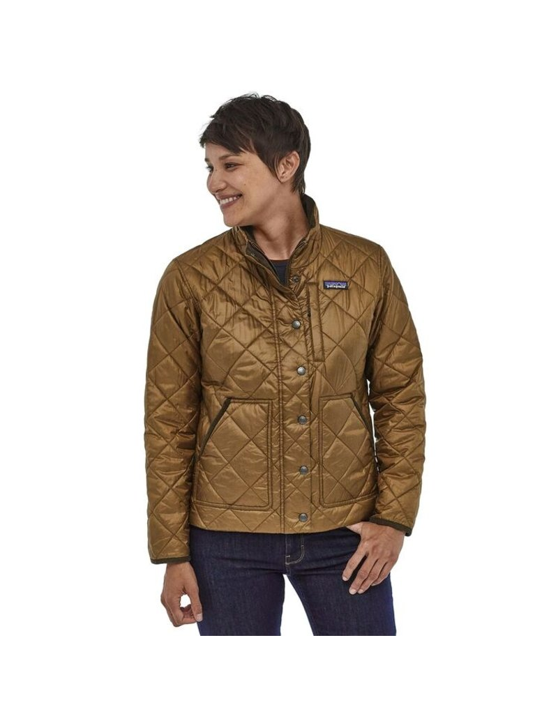 Patagonia Womens Back Pasture Jacket Owl Brown
