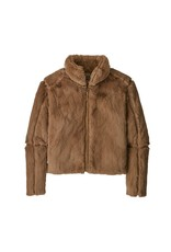Patagonia Womens Lunar Frost Jacket Bearfoot Tan