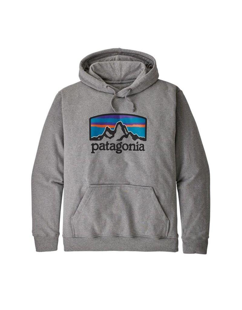 Patagonia M's Fitz Roy Horizons Uprisal Hoody Gravel Heather