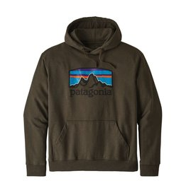 Patagonia M's Fitz Roy Horizons Uprisal Hoody Logwood Brown