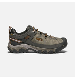 Keen Footwear MEN'S TARGHEE WP BLACK OLIVE/GOL