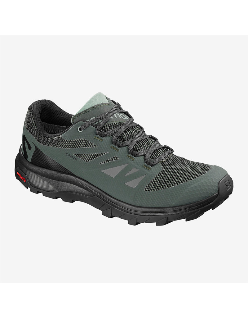 Salomon Men's Outline Gtx Urban Chic/Bk/Green Mi