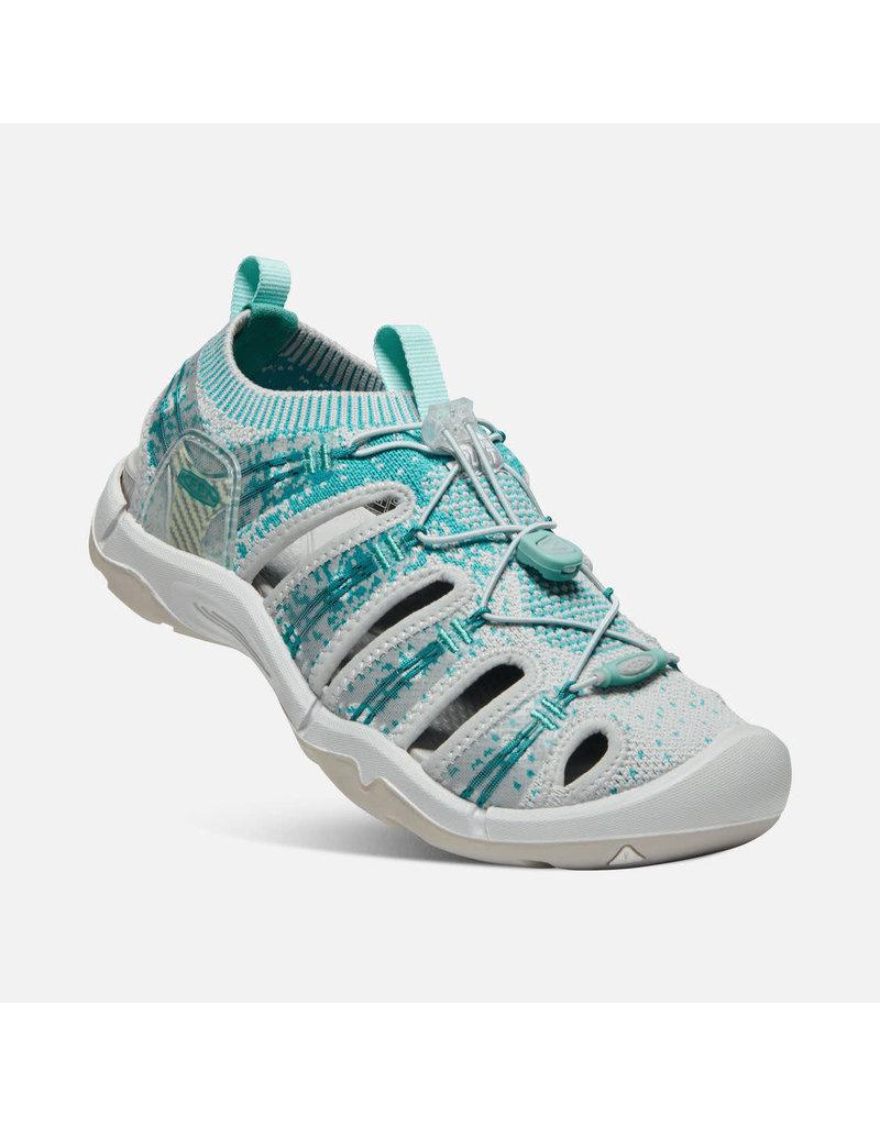 Keen Footwear Womens evofit one- paloma/lake blue