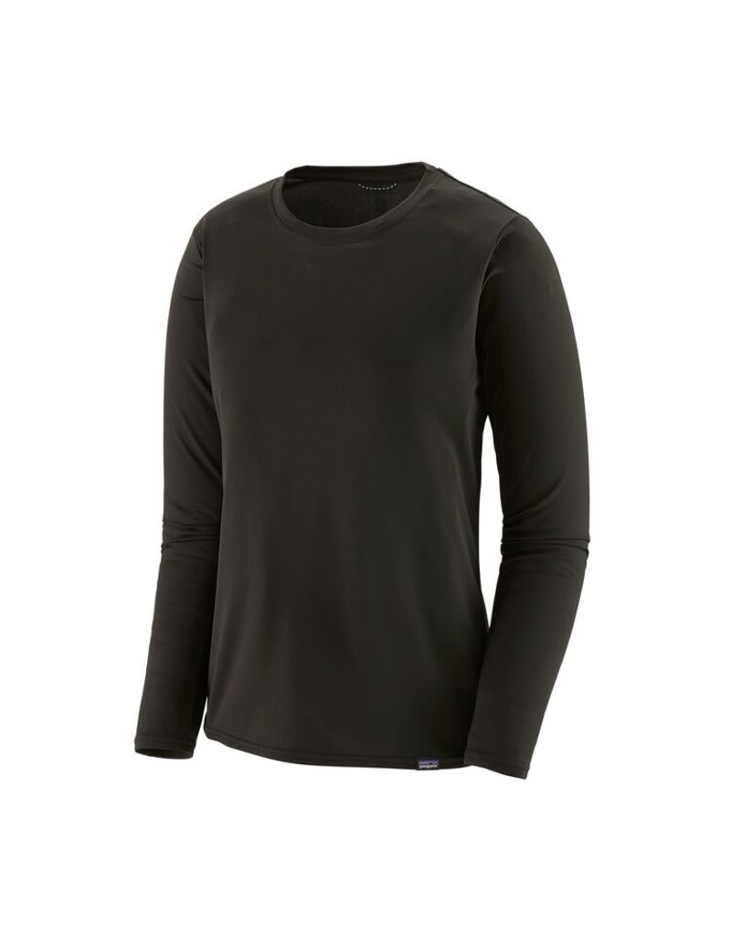 Patagonia Womens L/S Cap Cool Daily Shirt Black