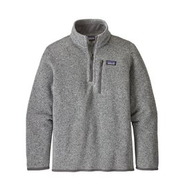Patagonia Boys Better Sweater 1/4 Zip Stonewash