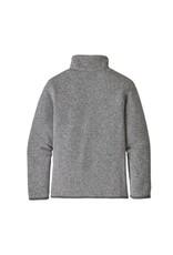 Patagonia Boys Better Sweater 1/4 Zip Stonewash