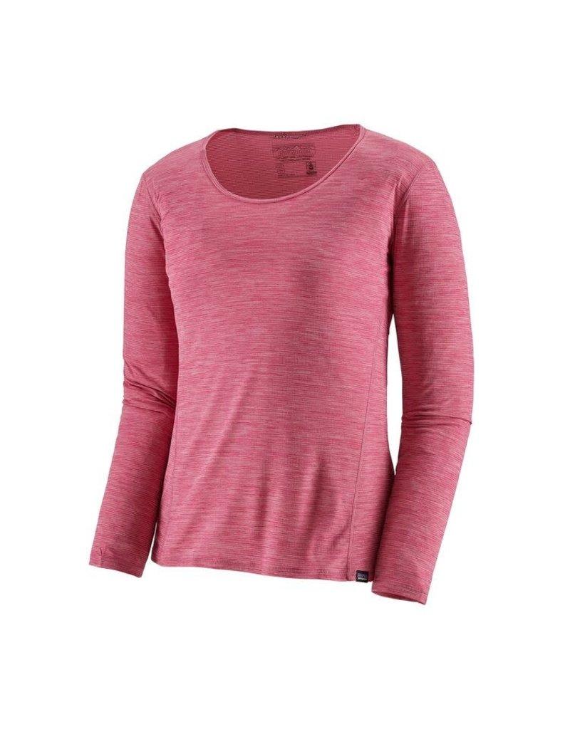 Patagonia Womens L/S Cap Cool Lightweight Shirt Craft Pink