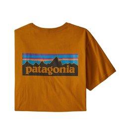 Patagonia M's P-6 Logo Organic T-Shirt Hammonds Gold