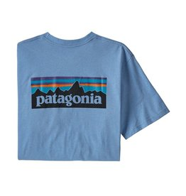 Patagonia M's P-6 Logo Pocket Responsibili-Tee Wilder Blue