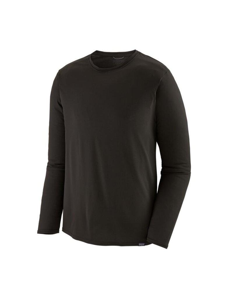 Patagonia Mens L/S Cap Cool Daily Shirt Black