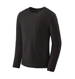 Patagonia Mens L/S Cap Cool Lightweight Shirt Black
