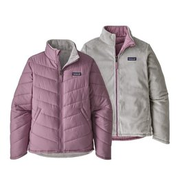Patagonia Girls Reversible Snow Flower Jkt Verbena Purple
