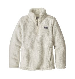 Patagonia Girls Los Gatos 1/4 Zip Birch White