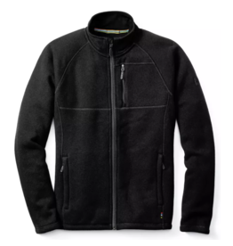 Smartwool Mens Echo Lake Full Zip Charcoal Heather